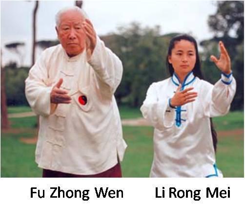 Gran Maestro Li Rong Mei e Fu Zhong Wen